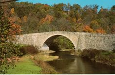 Casselman River Bridge, completed in 1811, Grantsville