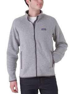 Patagonia Better Sweater grey (Size: L) fleece jacket Patagonia ++ You can get best price to buy this with big discount just for you.++