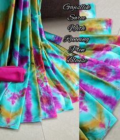 Whatsapp on for Order, Query & Updates on Latest Collection. Latest Sarees Online, Bridal Sarees, Georgette Fabric, Saree Styles, Printed Sarees, Designer Sarees, Saree Collection, Party Wear, Tie Dye Skirt