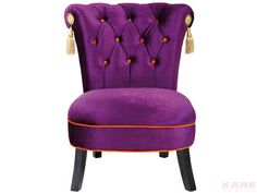 poltrona Saloon Purple
