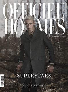Lucky Blue Smith Covers LOfficiel Hommes Italia in Prada