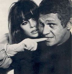 Steve McQueen and Jean Shrimpton photographed by Richard Avedon for Harpers Bazaar 1965