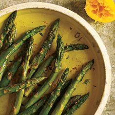 Roasted Asparagus with Browned Butter | MyRecipes.com