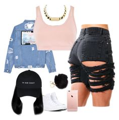 """✨"" by deziiretaylor ❤ liked on Polyvore featuring adidas and Converse"