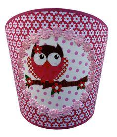 wandlamp-Pink-Owl - � 42,95