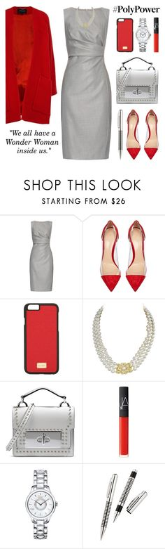 #PolyPower Style by lgb321 on Polyvore featuring мода, MaxMara, Derek Lam, Gianvito Rossi, Marc Jacobs, Christian Dior, Mikimoto, Dolce&Gabbana and NARS Cosmetics