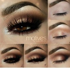 glam eye makeup
