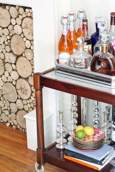 gotta find me a bar cart- great blog with suggestions on styling one!
