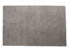 """""""African pattern 1"""" is a design rug produced by Nani Marquina, designed by Milton Glaser and made of new wood."""