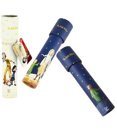 The Little Prince Kaleidoscopes Set of 3. For party favors or kids gifts.