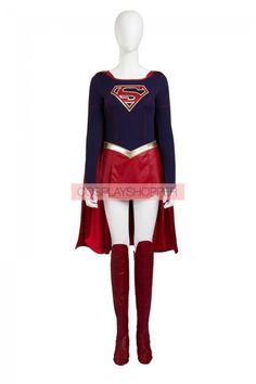Supergirl Cosplay Costume