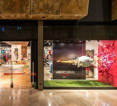 Nike Retail Interior I Mercurial 2014 l Nike Forum Istanbul by Dusmekan Design I Istanbul I Dusmekan See more here: www.dusmekan.com