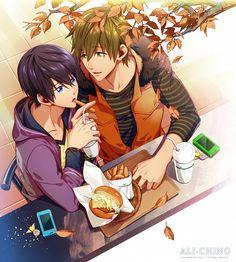 Nanase Haruka & Tachibana Makoto   Free! #anime #shounen-ai