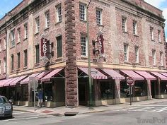 The Lady and Sons (Paula Deen) restaurant in Savannah---Will go here when we move to Ga! lol