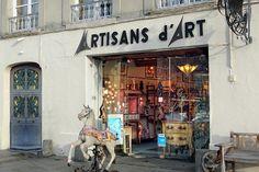 """DSC03046_ Boutique """"Artisans d' Art"""" Honfleur Normandie France"""