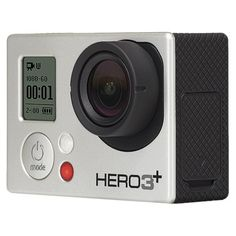 GoPro HERO3+ Silver Edition.  I'll be needing this for my crazy adventures!