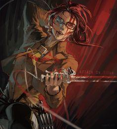 The Amazing Hanji Zoe - Shingeki no Kyojin
