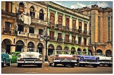 La Habana Vieja One of the main squares in Havana next to cuban Capitol.
