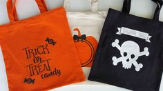 My Vinyl Direct - Trick Or Treat Tote, $6.99 (http://www.myvinyldirect.com/trick-or-treat-tote/)