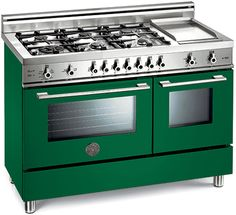Bertazzoni Pro Series range in green