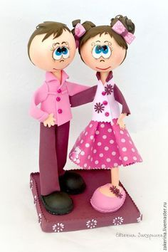 Мастер-класс по созданию куклы из фоамирана