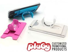 2014 the HOTTEST phone accessories,stand,and put your card,money. Smart design. Find it on PlugyPromotion.com