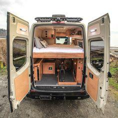 Sprinter Van with Bathroom . Sprinter Van with Bathroom . Mercedes Brings Its Own Sprinter Camper Van to 2013 Sprinter Camper Conversion, Camper Van Conversion Diy, Van Conversion Ford Transit, Sprinter Bus, Diy Van Conversions, Mercedes Sprinter Camper, Vw Camper, Ducato Camper, Materiel Camping