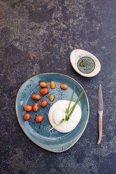 burrata,pesto,tomatoes  florianandergassen.com