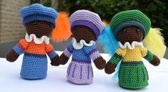 Sinterklaas en zwarte Piet