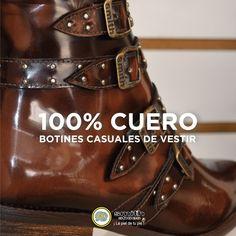 La Maestría de nuestros Artesanos para la Felicidad de tus pies. Botines Casual, Shoes, Fashion, Happiness, Footwear, Boots, Leather, Fur, Feminine