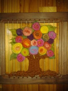Bohemian Gypsy, Textile Art, Vintage Posters, Loom, Weaving, Textiles, Tapestry, Rainbow, Frame