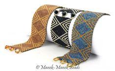 Chevron Cuff by Manek-Manek Beads - Jewelry | Kits | Beads | Patterns