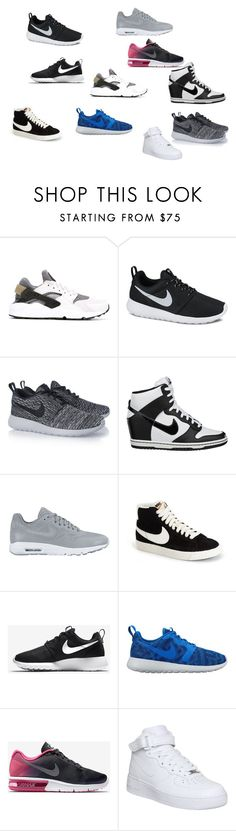 """""""Just DO It!!!! NIKE"""" by imaboss217 ❤ liked on Polyvore featuring NIKE"""