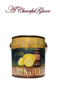 A Cheerful Giver Almond Butter Pound Cake Jar Candle 24-Ounce
