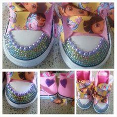 Dora bling chucks!