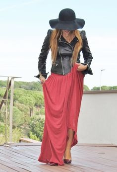 Street Style Looks With Long Skirts For Spring - Trendy Key