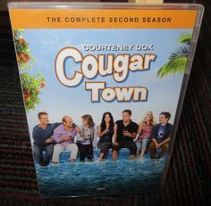 COUGAR TOWN: THE COMPLETE SECOND SEASON 3-DISC DVD SET, SEASON 2, COURTENEY COX