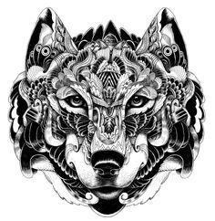 Iain Macarthur - a wolf