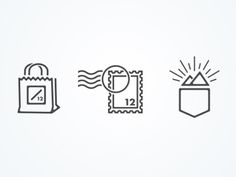 12 Icons by Levi McGranahan