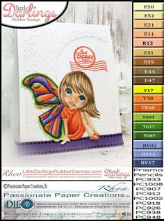 COPICS Passionate Paper Creations: Bright Wings Are Happy Wings