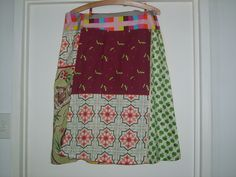 just another wrap skirt out of bits and pieces