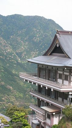"""Kumano Nachi Taisha - Shrine    Photographer's note: """"Kumano  Nachi Taisha is a Buddhist/Shinto shrine located in the Kii mountain  range of Japan. The specific mountain containing the temple is called  Nachi-san. This site is also home to the holy waterfall Nachi no taki""""."""