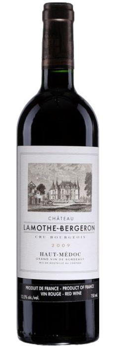 GVG pour CORDIER MESTREZAT - Château Lamothe Bergeron Haut-Médoc cru bourgeois  - Code SAQ:12443360