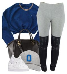 Untitled #734 by cjasmyne on Polyvore featuring polyvore, fashion, style, NIKE, H&M, Givenchy and October's Very Own