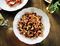 A slightly healthier version of the classic bar nut, this quick recipe will make your house smell like the holidays.