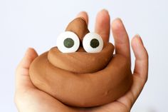If your kid is an emoji fan, they'll love this Poop Emoji Slime! Unlike the real thing, this recipe is made with chocolate, so it smells fantastic!