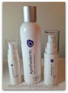 Pammy Blogs Beauty: Skincare from Apothederm: Cleanser, Serum, and Eye Cream