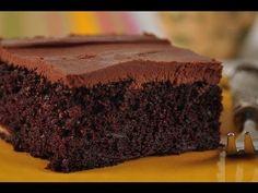 Snadný banánový dort s čokoládovou ganachí + Videorecept | Čarujeme