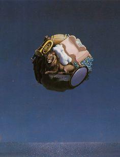 Rene Magritte - The Traveler