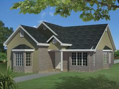 ePlans Ranch House Plan – Decorative Ceilings – 1403 Square Feet and 3 Bedrooms from ePlans – House Plan Code HWEPL77359